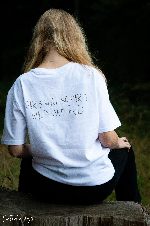 white t-shirt back